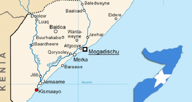 Kuday Island, located 130 kilometers southwest of Kismayo, was the last remaining stronghold for al-Shabab militants in the country's south.